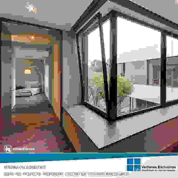 Sistemas de presión: osilobatiente de Ventanas Exclusivas Guadalajara Moderno