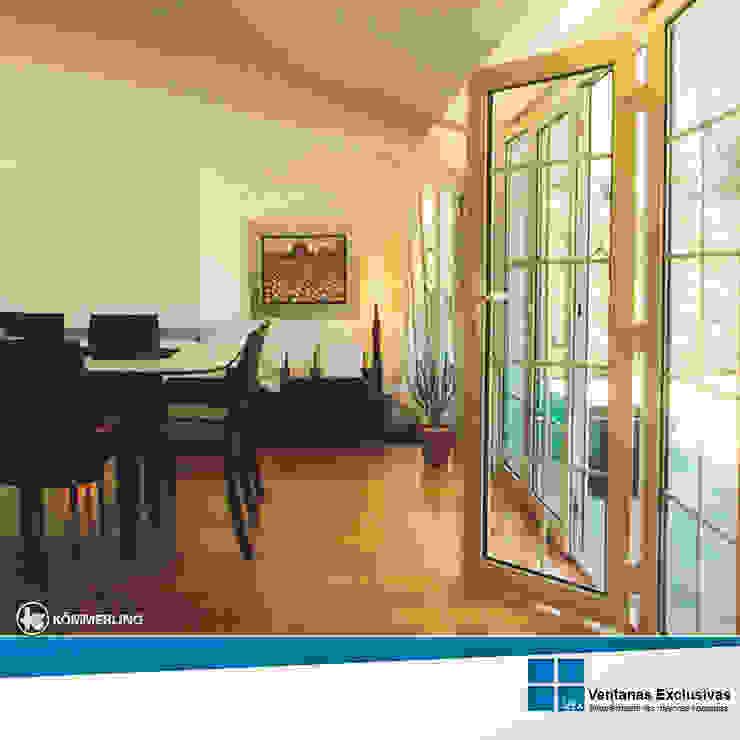 Sistemas de presión: puerta balconera de Ventanas Exclusivas Guadalajara Moderno