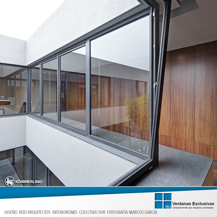 Modern Windows and Doors by Ventanas Exclusivas Guadalajara Modern