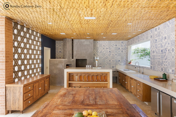 Kitchen by BAMBU CARBONO ZERO,