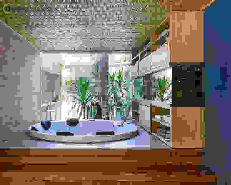 Spa rústicos de BAMBU CARBONO ZERO Rústico Bambú Verde