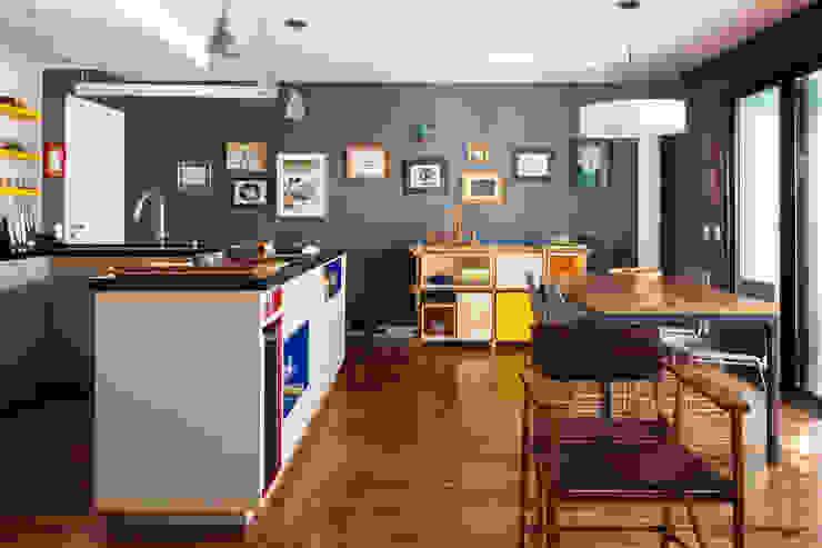 Alvorada Arquitetos Modern dining room