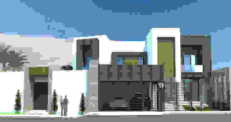 Acrópolis Arquitectura Modern houses Stone White