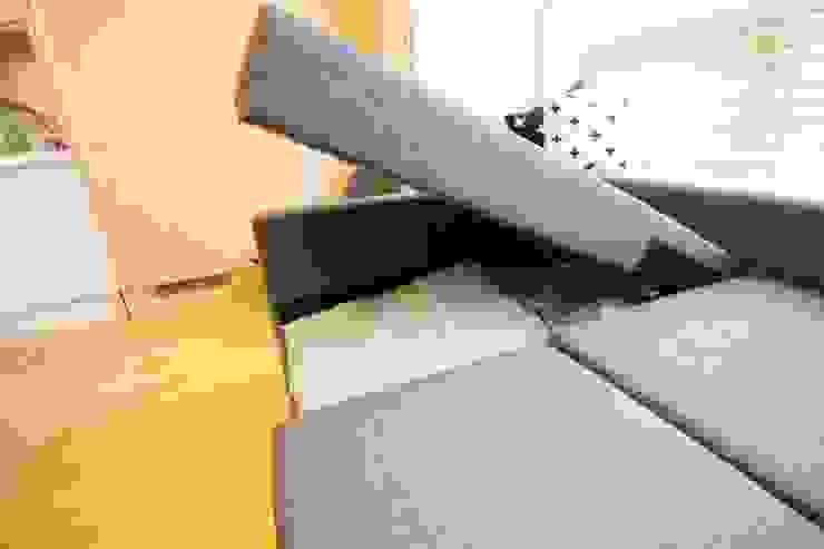 [홈라떼] 내츄럴 오피스텔 거실 스칸디나비아 거실 by homelatte 북유럽