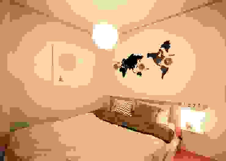 [홈라떼] 내츄럴 오피스텔 침실 스칸디나비아 침실 by homelatte 북유럽