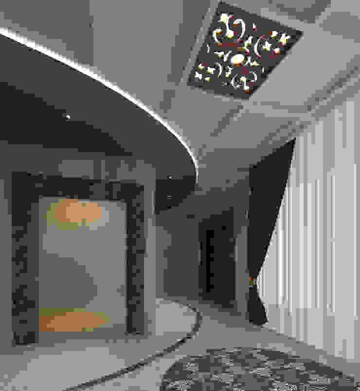 VILLA ZARBIANUS -IRAK Klasik Koridor, Hol & Merdivenler Mimoza Mimarlık Klasik