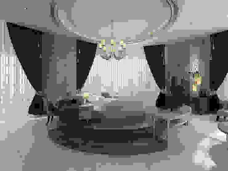 VILLA ZARBIANUS -IRAK Klasik Yatak Odası Mimoza Mimarlık Klasik