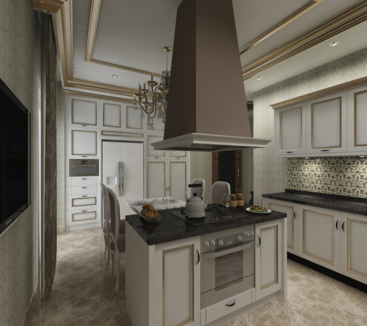 Classic style kitchen by Mimoza Mimarlık Classic