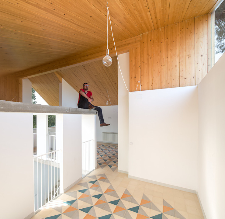 Casa Palau | Joaquin Antón & Javier Luri – wearenear Simon Garcia | arqfoto Balcones y terrazas de estilo moderno