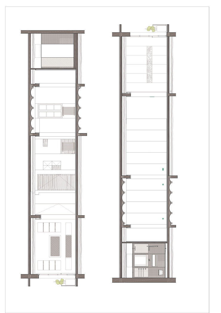 Piso Barrio Gótico | AAGF arquitectura Simon Garcia | arqfoto