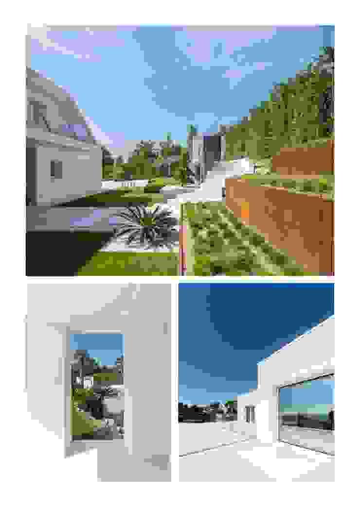Casa Herrero | 08023 architects Simon Garcia | arqfoto Jardines de estilo moderno