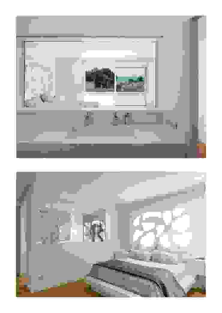 Casa Herrero | 08023 architects Simon Garcia | arqfoto Pasillos, vestíbulos y escaleras de estilo moderno