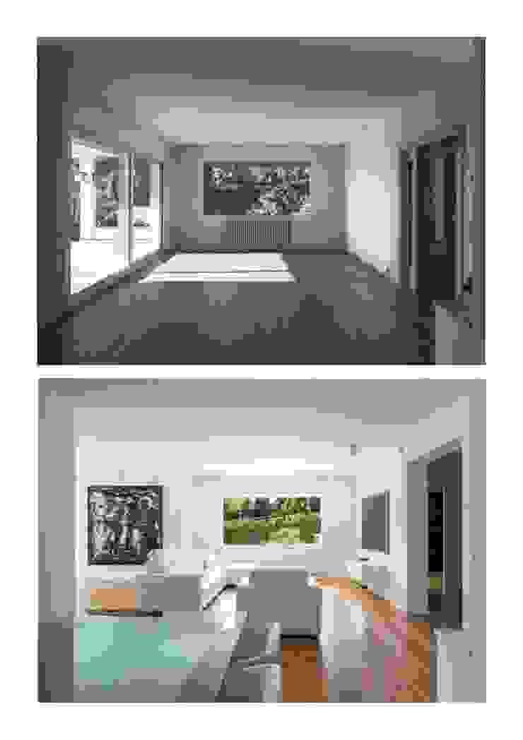 Casa Herrero | 08023 architects Simon Garcia | arqfoto Salas de estilo moderno