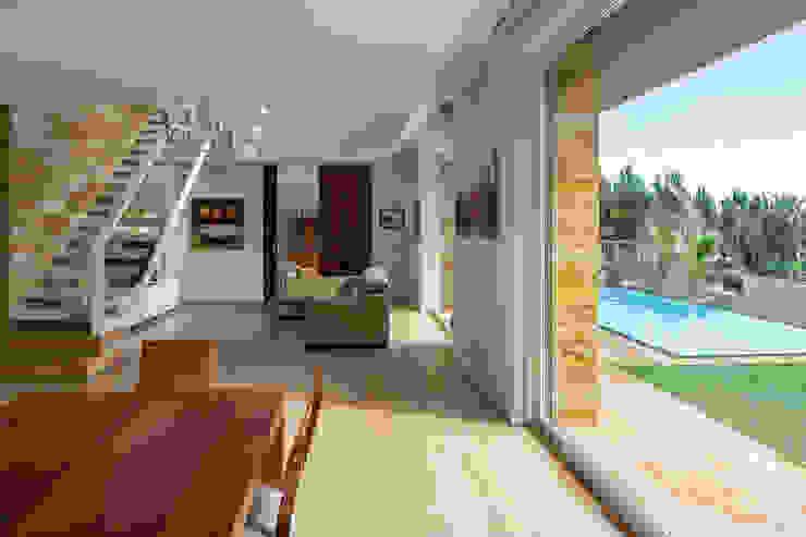 Salas de estar  por Simon Garcia | arqfoto, Moderno