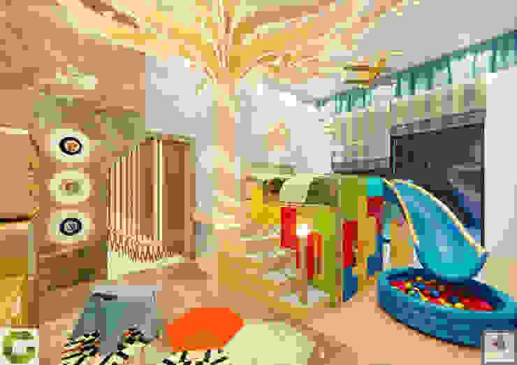 Kids bedroom Modern style bedroom by homify Modern MDF