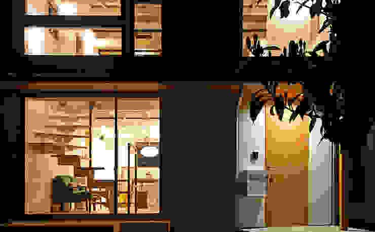 合同会社negla設計室 Scandinavian style houses Wood White