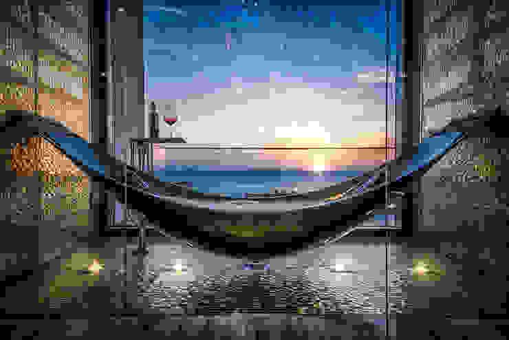 The Island Bathroom من XYZ Designers تبسيطي