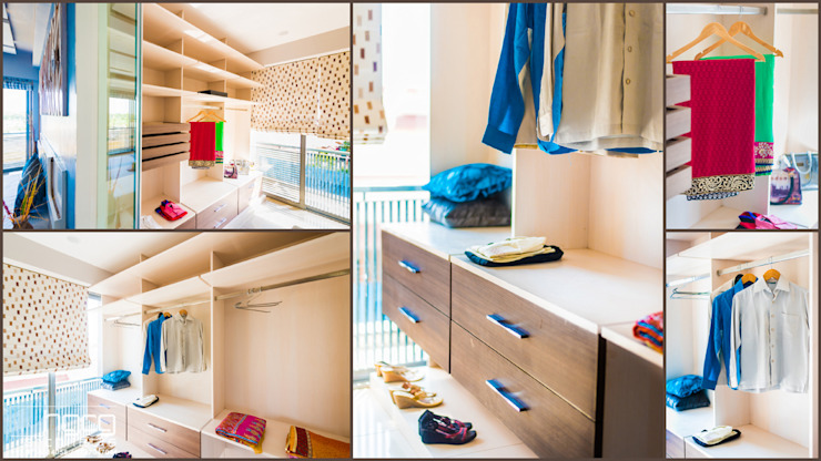 Walk In Wardrobe by HGCG Architects