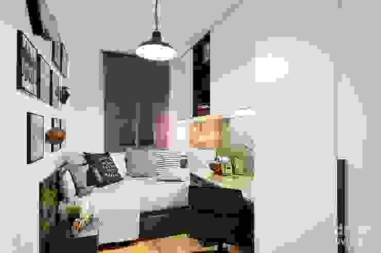 Dormitorios de estilo industrial de Dröm Living Industrial