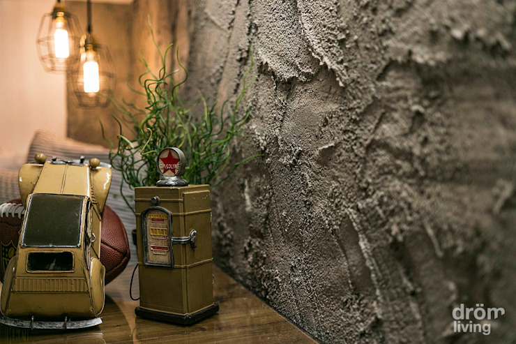 Dröm Living Dormitorios de estilo industrial