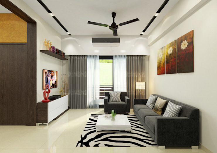 Elegant Living at Jiya Homes by HGCG Architects