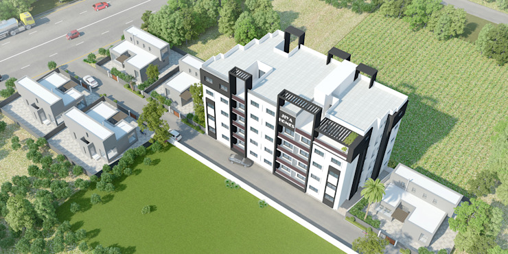 Birds Eye View by HGCG Architects