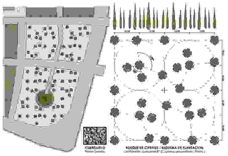 Jardin moderne par Dhena CONSTRUCCION DE JARDINES Moderne Panneau d'aggloméré
