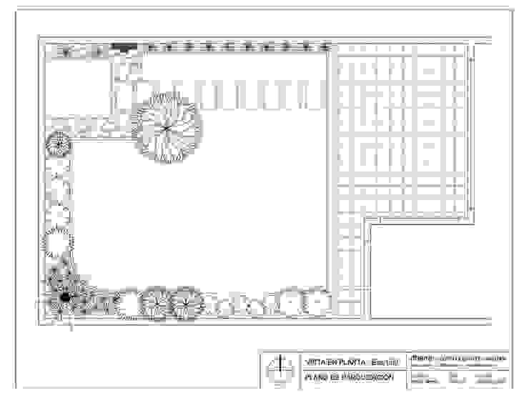 Jardín Menchon Jardines modernos: Ideas, imágenes y decoración de Dhena CONSTRUCCION DE JARDINES Moderno Hormigón