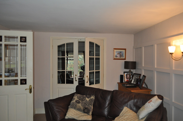Broom Cottage Before and After:   by Hampshire Design Consultancy Ltd.,