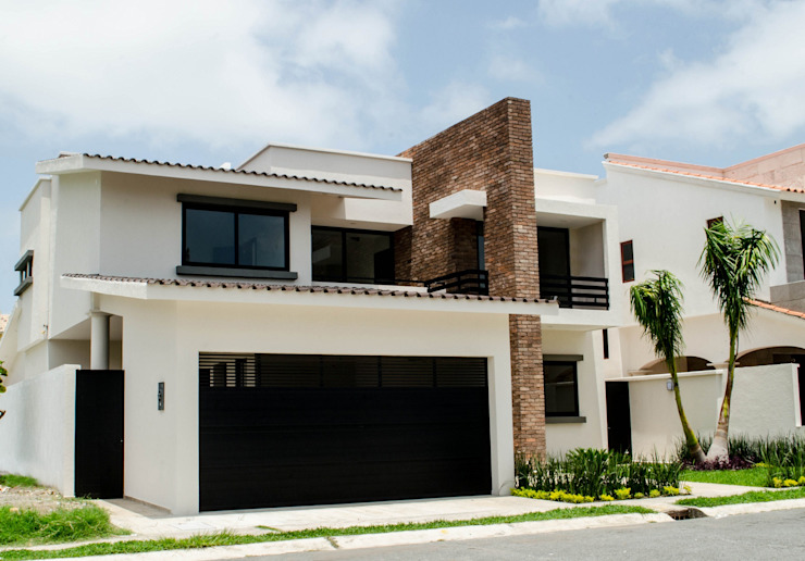 Fachada Casas estilo moderno: ideas, arquitectura e imágenes de ARKOT arquitectura + construcción Moderno