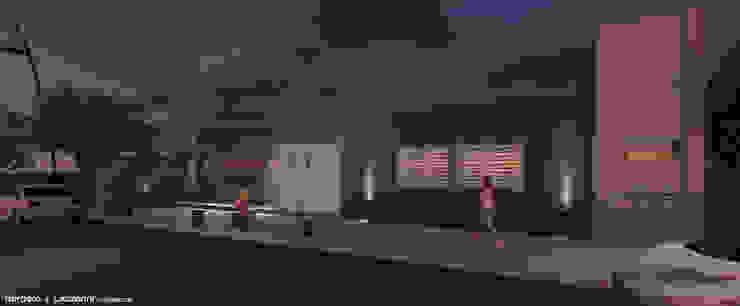 Oficinas Dirección de Transporte Municipalidad de San Francisco de Raizar Arquitectura y Paisajismo Moderno