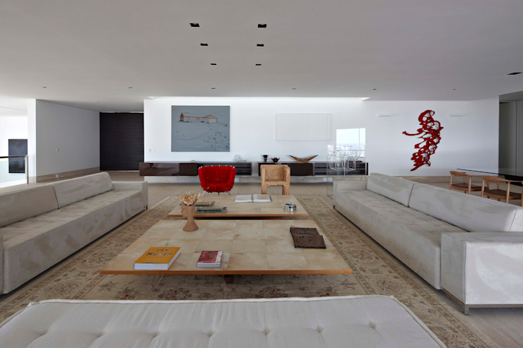 Living room by Lanza Arquitetos,