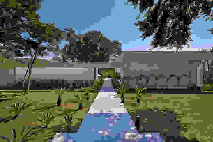 Amendoeiras Alta Taman Modern Oleh Lanza Arquitetos Modern
