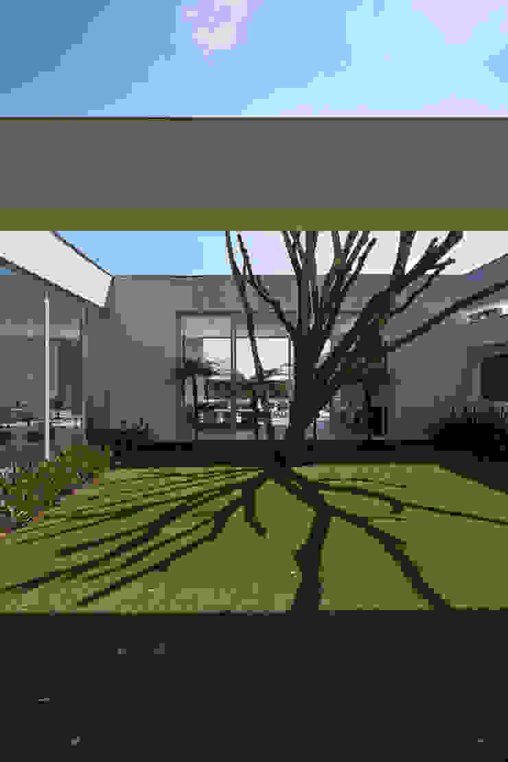 Amendoeiras Alta Casas modernas de Lanza Arquitetos Moderno