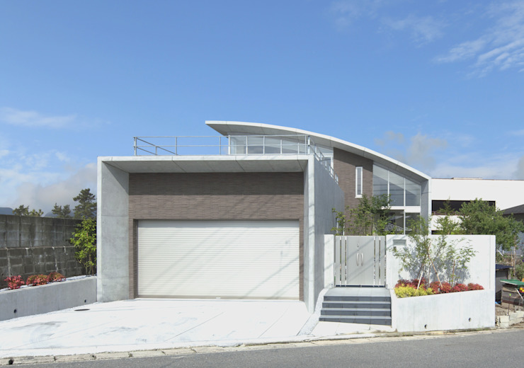 株式会社 深田環境建築デザイン 一級建築事務所 Casas modernas
