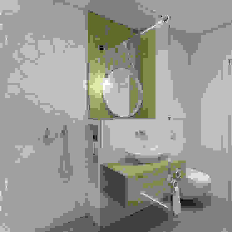 Mieszkanie Warszawa Bartycka: styl , w kategorii Łazienka zaprojektowany przez INSIDEarch,Nowoczesny