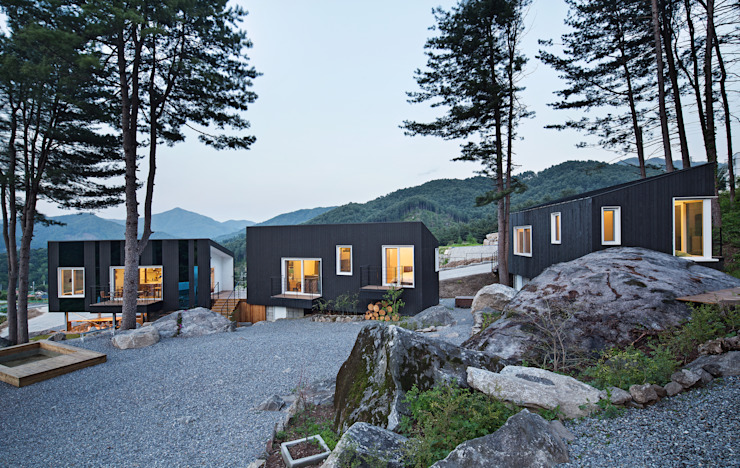 Glamping on the Rock by 건축공방 'ArchiWorkshop'