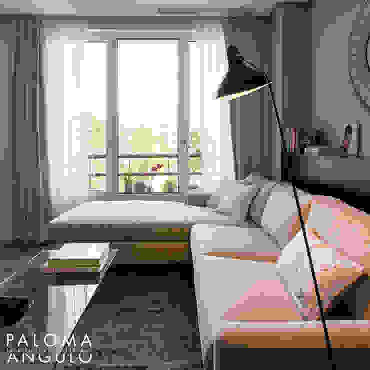 Modern Living Room by Interiorismo Paloma Angulo Modern