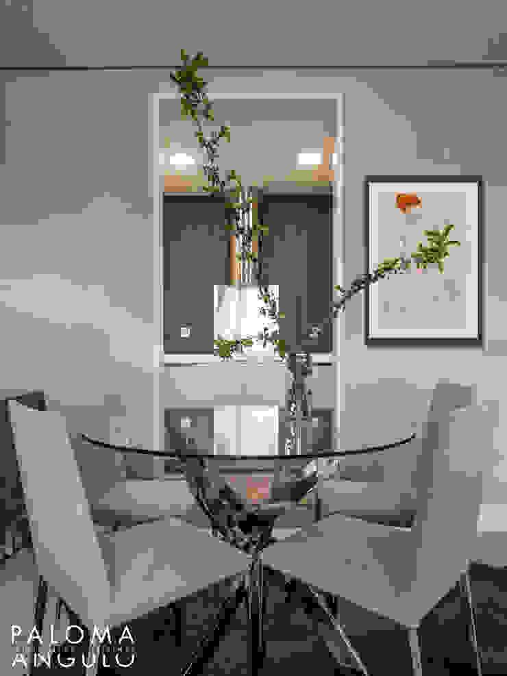 Modern Dining Room by Interiorismo Paloma Angulo Modern