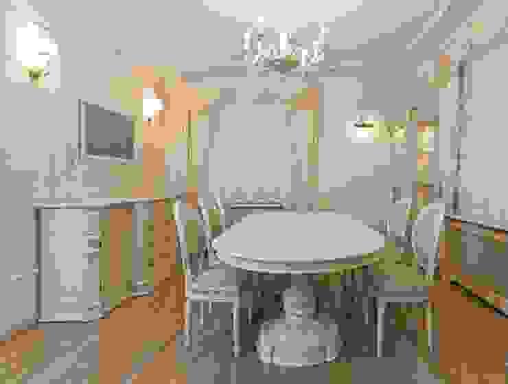 Столовая в классическом исполнении: Столовая комната в . Автор – URBAN wood,
