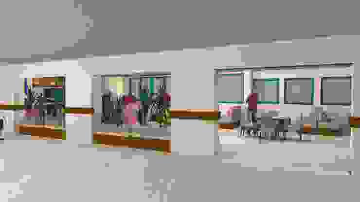 Necif Fazıl Şehir Hastanesi Modern Hastaneler Erca Yapı Müh. Mim. Dan. Ltd. Şti. Modern
