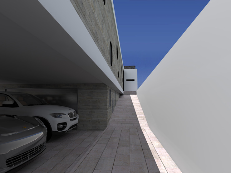 """Vivenda Unifamiliar - """"FV"""" Casas modernas por Traço M - Arquitectura Moderno"""