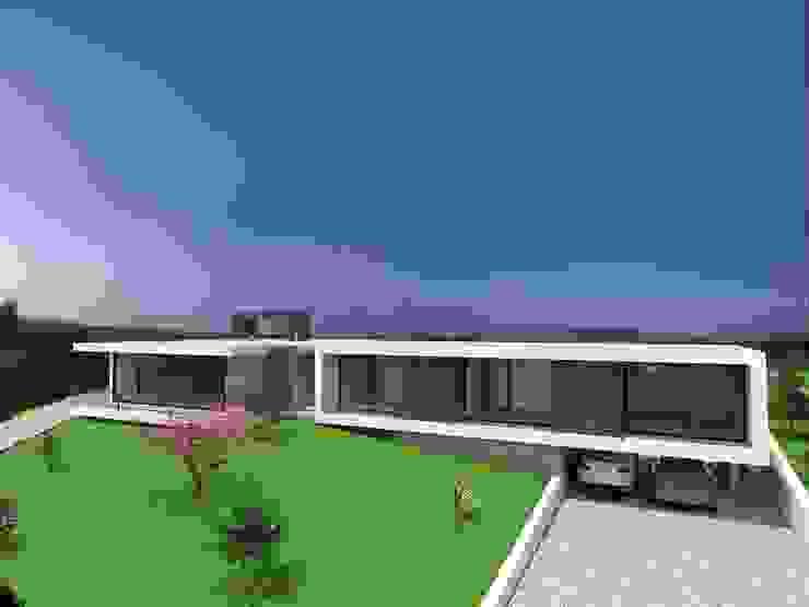Vivenda Unifamiliar – <q>FV</q> Casas modernas por Traço M - Arquitectura Moderno