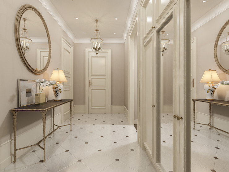 Classic corridor, hallway & stairs by Alexander Krivov Classic