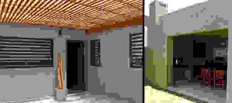 Casa P_1330 Jardines modernos: Ideas, imágenes y decoración de ELVARQUITECTOS Moderno