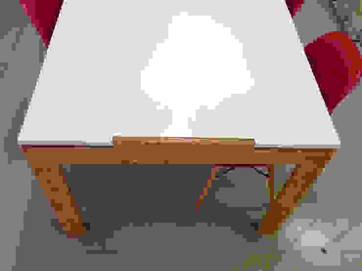 diseño de oficinas • JAMPP:  de estilo industrial por Estudio Cebra,Industrial Tableros de virutas orientadas