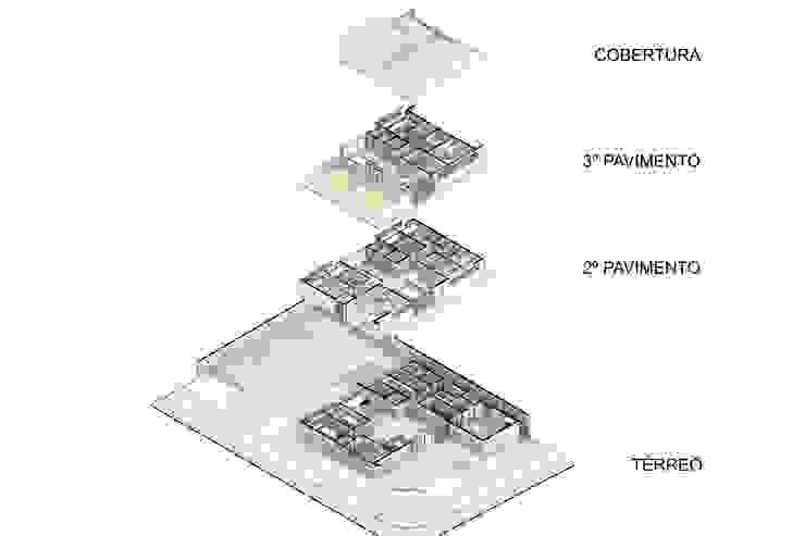Modern clinics by Logi Arquitetura Modern