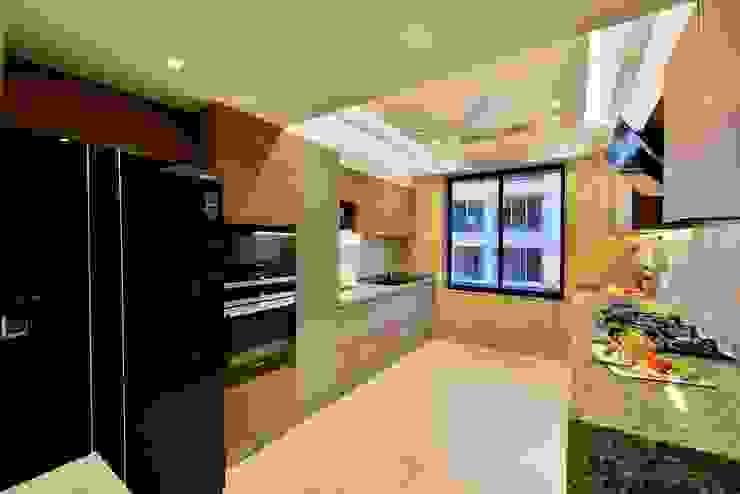 Minimalist kitchen by homify Minimalist MDF