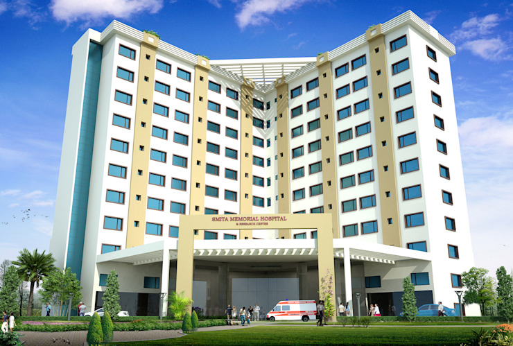Smita Memorial Hospital and Research Centre (SMHRC) Thodupuzha, Kerala by Vastushilpalaya Consultancy Pvt. Ltd.