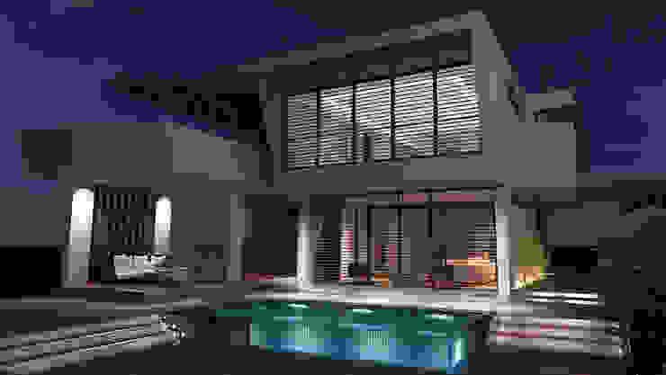 Дома в стиле минимализм от Gama Mimarlık Минимализм Бетон